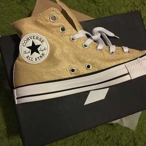 Converse All Star High Top Lace-up Sneakers size 8